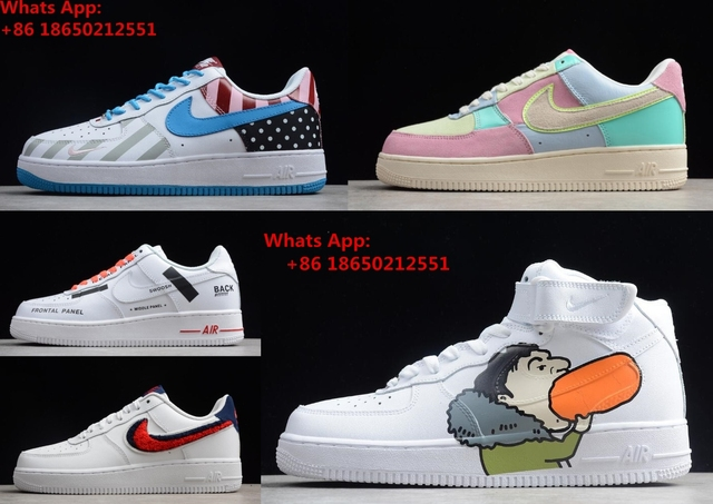 release date: 2a972 7c77c 2018 Air Force 1 07 LV8 AF1 One Low QS Men Sneakers Shoes