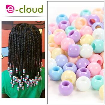 Kids Box Braids Beautiful Hair Beads for Child Multicoloured Gift 50pcs in Braiding Extensions - discount item  19% OFF Hair Tools & Accessories