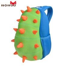 NOHOO çocuk okul çantaları çocuklar bebek 3D dinozor sırt çantası Toddler sırt çantaları erkek kız dinozor sırt çantası karikatür oyuncaklar çanta