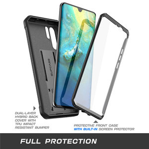 Image 4 - For Huawei P30 Pro Case (2019 Release) SUPCASE UB Pro Heavy Duty Full Body Rugged Case with Built in Screen Protector+Kickstand