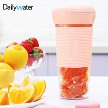 Mini Portable Electric Fruit Juicer Extractor Machine Juice Cup Bottle Multi-function Rechargeable Tritan Juice Maker Blender стоимость