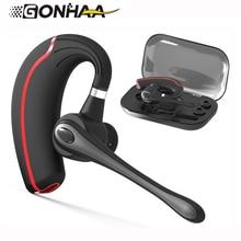 GONHAA stereo handsfree trådlös Bluetooth-hörlurar V4.1 högupplöst mikrofon bil brusreducering