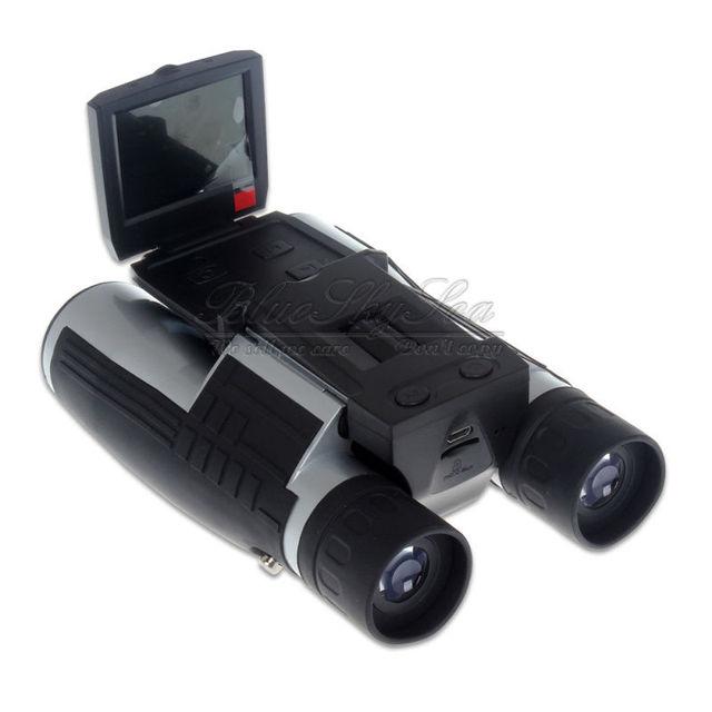 """Di alta Qualità Binocolo Telescopio 2 """"Screen HD 1080P Registrazione Video Binocolo Fotocamera 12X32 Digitale Telescopio Binocolo Fotocamera"""