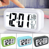 Night Light White Green Blue Black Smart Large Screen LED AAA Repeating Lazy Mute Low Light