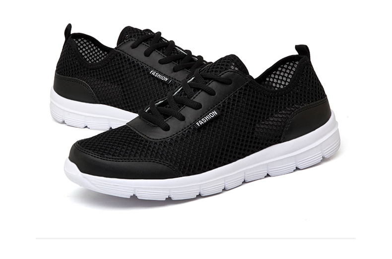 HTB1f0NeXFuWBuNjSspnq6x1NVXaG - OZERSK New Arrival Summer Casual Shoes For Men Fashion Breathable Mesh Lace up Men Flats Sneakers Jogging Shoes Plus Size 39-48