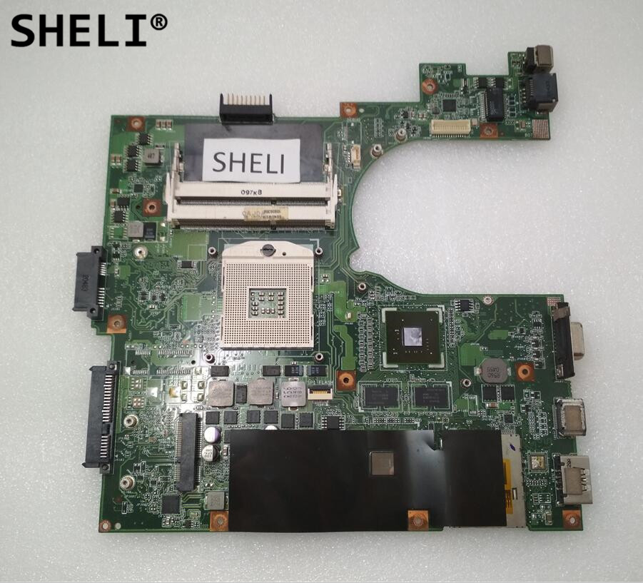 где купить SHELI For H34 H34E Motherboard with N11M-GEA-S-B1 Video Card дешево