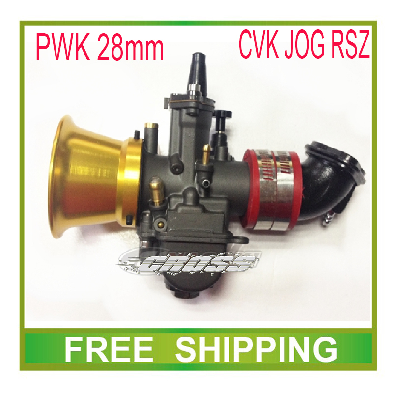 ФОТО 28mm carburetor wind cup air filter PE28 power jet PWK JOG RSZ  gy6 scooter atv 100cc 200cc motorcycle accessories free shipping