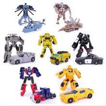 Nieuwe Collectie Transformatie Speelgoed Kids Classic Bumblebee Optimus Prime Robot Auto Speelgoed 7 Stijlen Cijfers Kinderen Onderwijs Speelgoed Geschenken