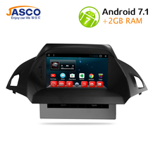 Android 7.1 Car DVD Player GPS Glonass Navigation Multimedia for Europe Ford Kuga 2013+ 2014 2015 Auto Radio Audio Video Stereo