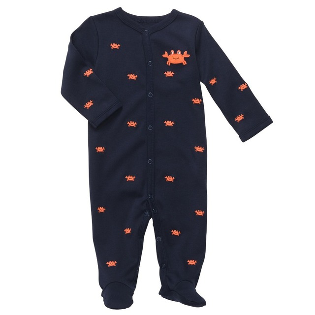 9db749d6e Carter s Original Baby boy s retail cotton Crab snap up   play-in ...
