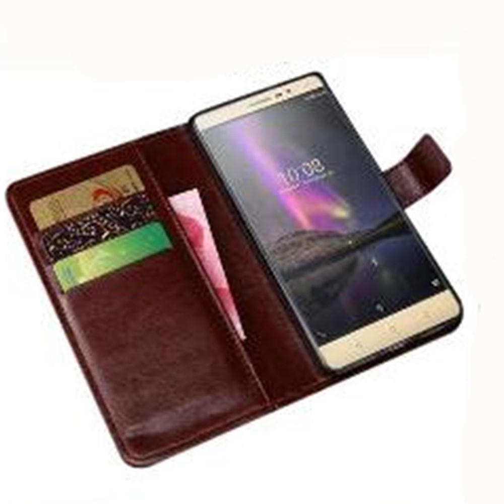 Luxury PU Leather Wallet Case Cover For Cricket Vision Wave Cover Protection Flip Phone Case image