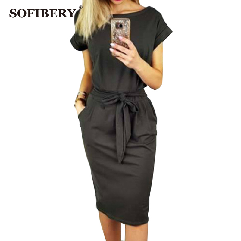 SOFIBERY Sale party dress Casual Women's Summer Dresses FBY02
