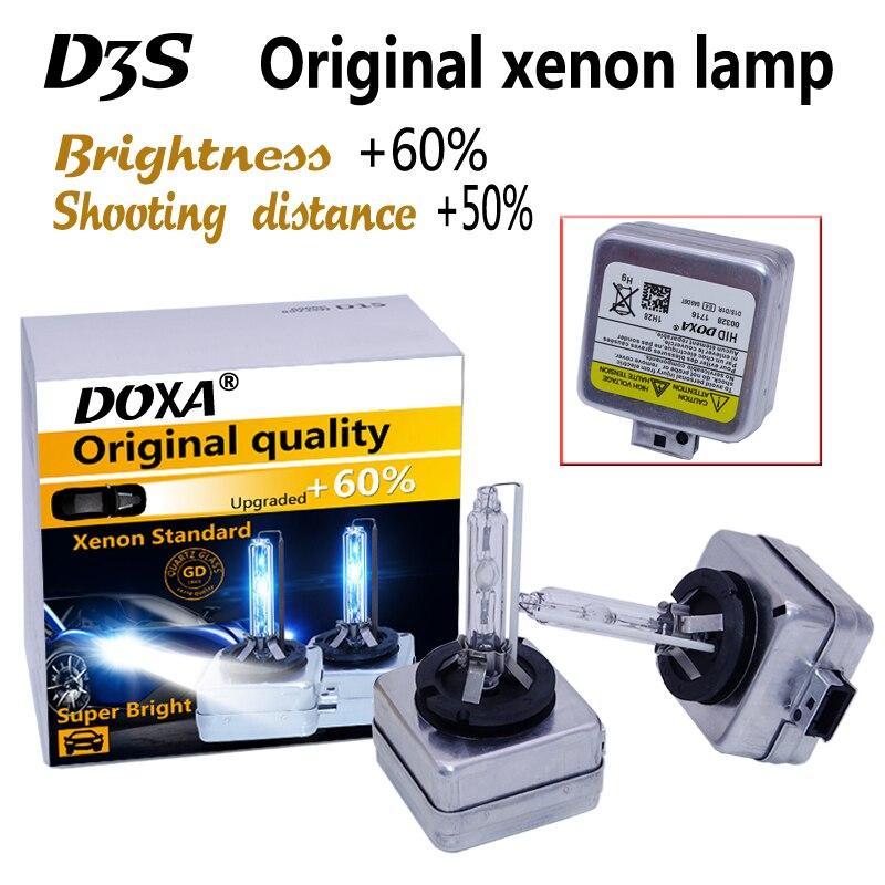 Freies verschiffen D3S HID birne D3S für auto lampe 35 watt super helligkeit und längere lebensdauer 4300 karat, 6000 karat, 8000 karat D3S Auto Licht