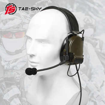 COMTAC III TAC-SKY COMTAC comtac iii silicone earmuffs earphone noise reduction pickup military tactical headset C3FG - DISCOUNT ITEM  0% OFF All Category