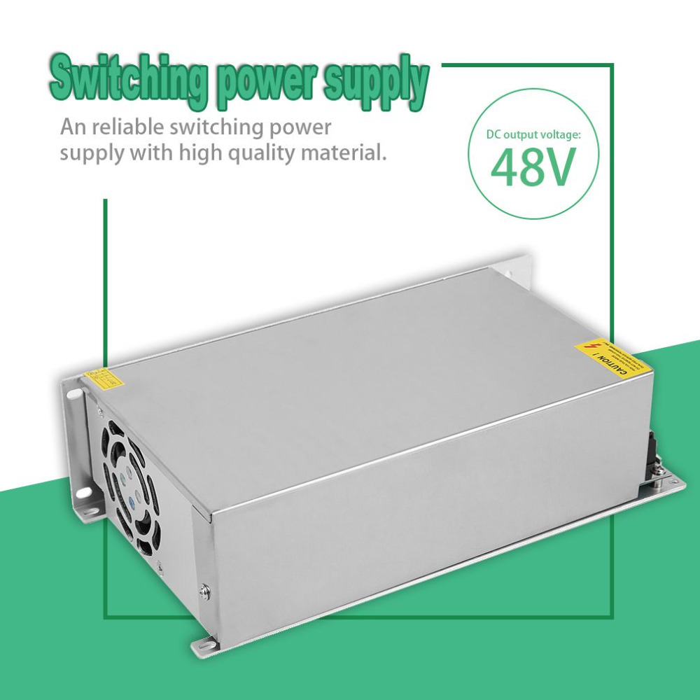 AC110V/220V to DC 48V 12.5A Transformers Universal Regulated Switching Power Supply for Closed Circuit TV An Switching Driver transformers маска bumblebee c1331
