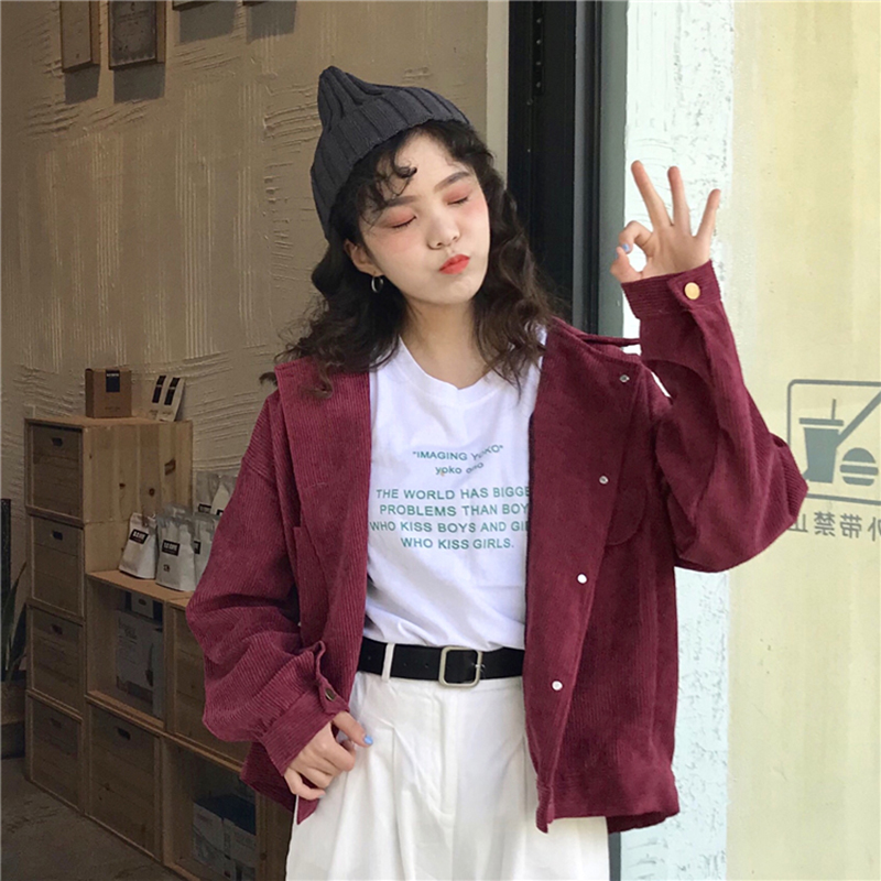 2018 Autumn Women Cotton Jacket Fashion