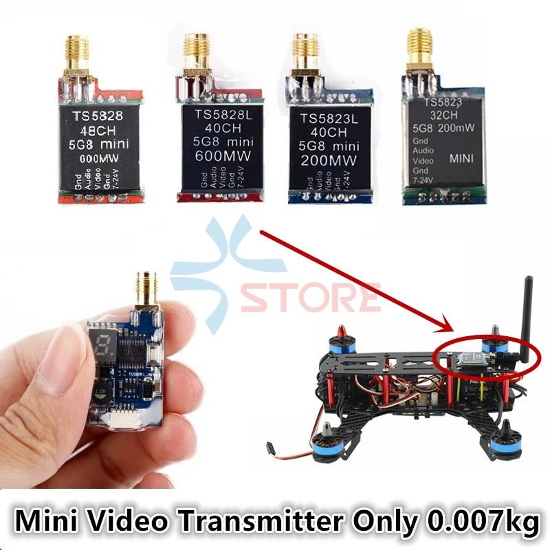 TS5828 TS5828L TS5823 TS5823L Video Sender Micro transmisor de Video inalámbrico módulo 5,8 GHz VTX para 180-350 clase Quadcopter drone