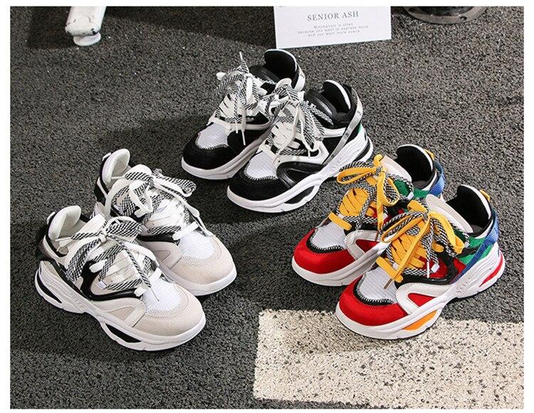grossa sapatos de plataforma das senhoras altura