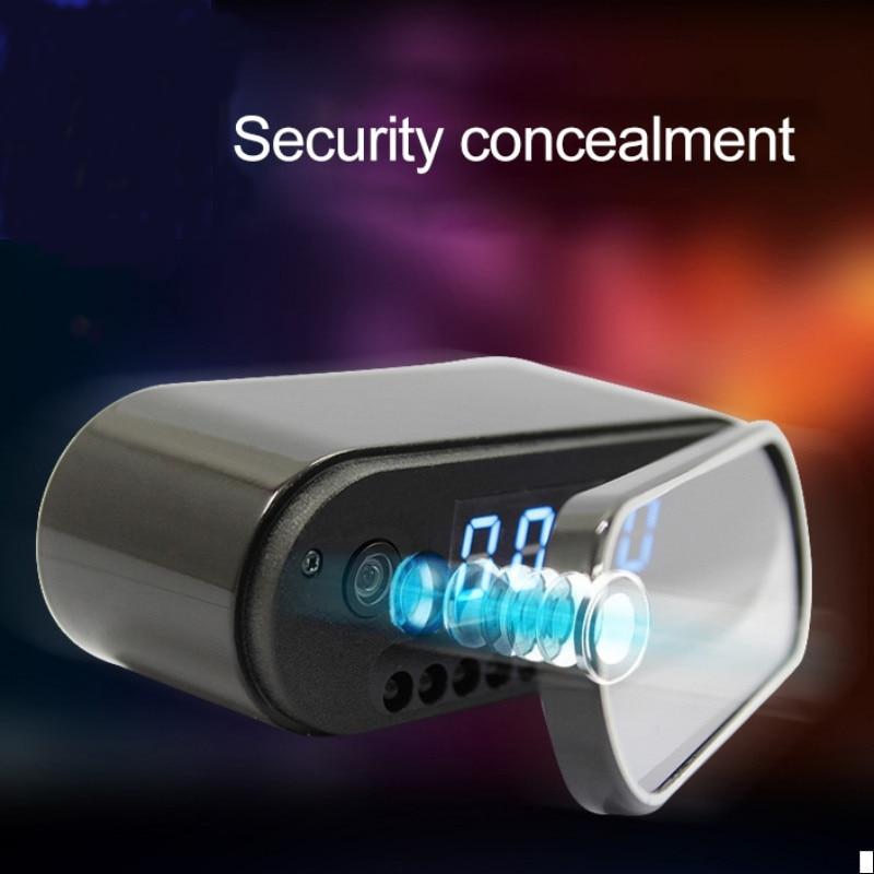 Volemer Fashion Mini Camera Clock Alarm P2P Livecam IR Night Vision Wifi Cam IP 1080 Mini DV DVR Camcorder Wifi Remote Control