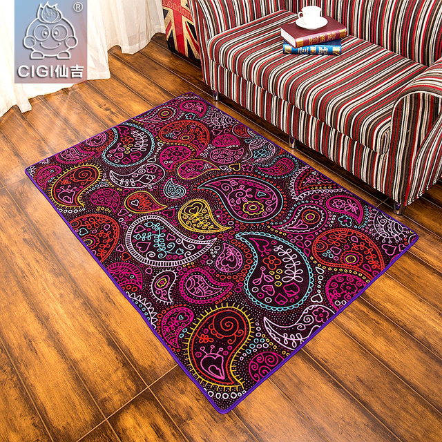 Cigi tapete colorido tecido de nylon dur vel tapete quarto - Alfombras salon el corte ingles ...