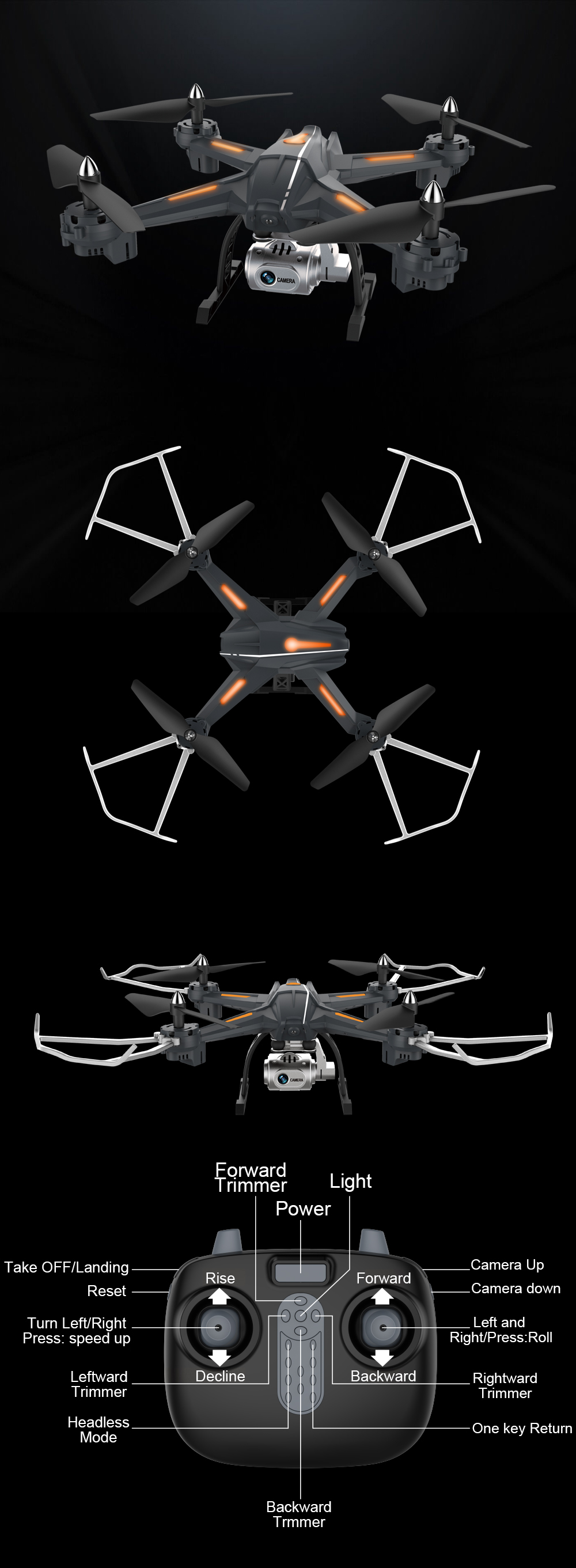 FPV Drone With Camera HD Wide Angle 1080P-1 (6)