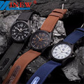 XINEW Мужчины Часы 2016 Открытый Бизнес Известная Марка Дата Нержавеющей Стали Военные Спорт Армия Часы Relojes Hombre Montre Homme