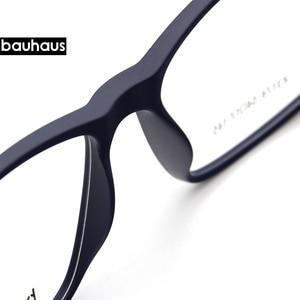 Image 4 - Bauhaus Polarized Sunglasses Men  5 In 1 Magnetic Clip On Glasses ULTEM Optical Prescription Eyewear Frames Eyeglass