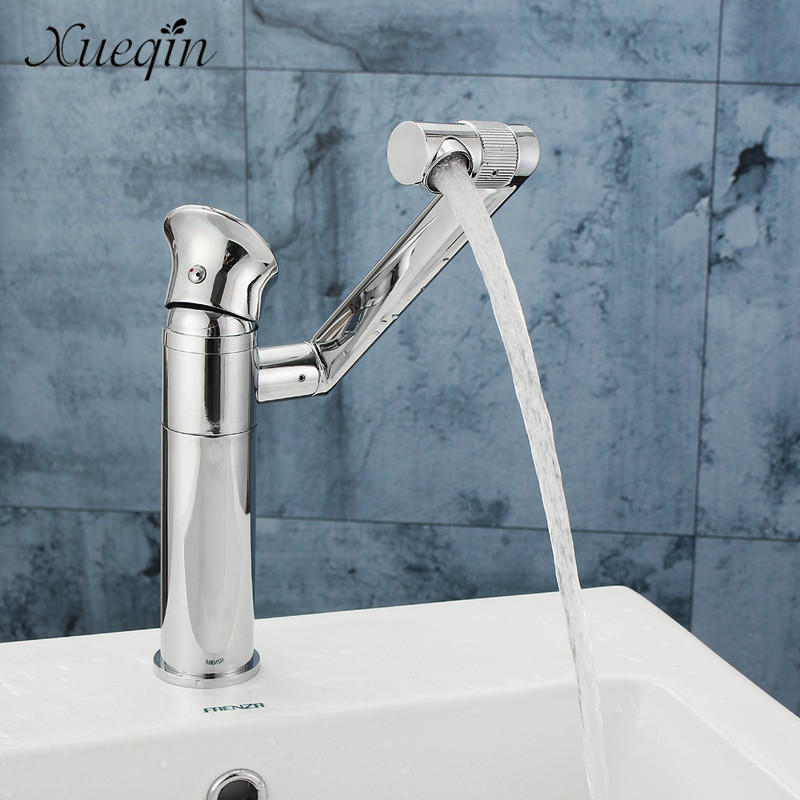 Xueqin Long Neck Type Bathroom Bathtub Basin Sink Mixer Tap Faucet Chrome Rotation Spout Bathtub Shower Faucet free shipping polished chrome finish new wall mounted waterfall bathroom bathtub handheld shower tap mixer faucet yt 5333