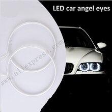 Один комплект CCFL angel eyes кольца для Honda супер яркие фары 165 мм angel eyes белый ccfl angel eyes для Старого Honda Jazz Fit
