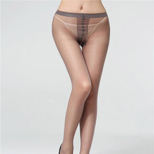 2 Pcs/lot EU SIZE Women 20D Nylon Pantyhose T-crotch Lady Thin tights Solid Color Female Stockings Brand Hosiery for 2019