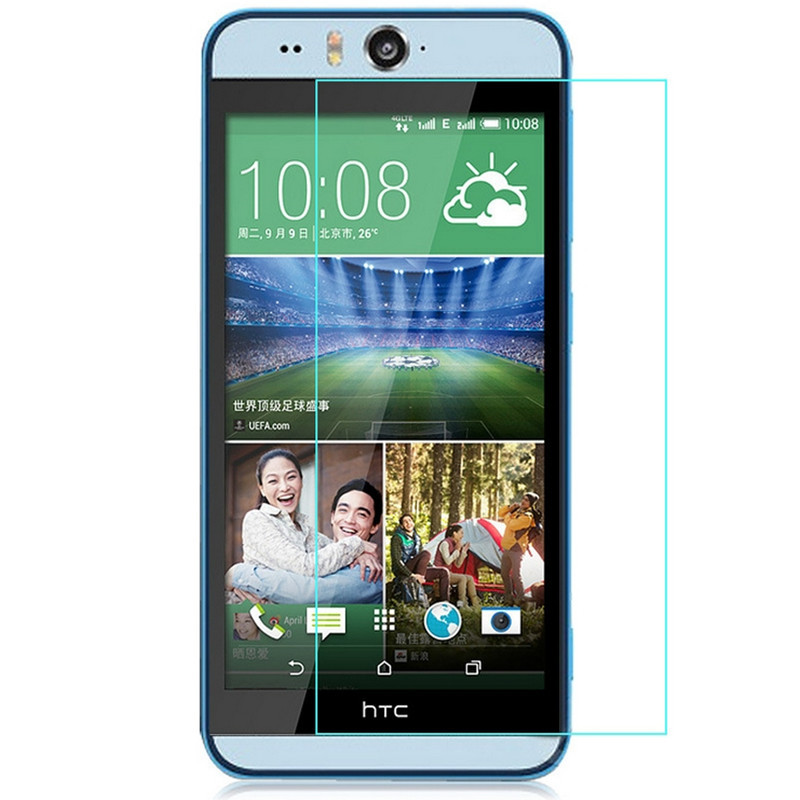 Phone Screen Protectors Realistic 2.5d 0.26mm 9h Premium Tempered Glass For Htc Desire Eye Screen Protector Toughened Protective Film For Htc Eye Glass *