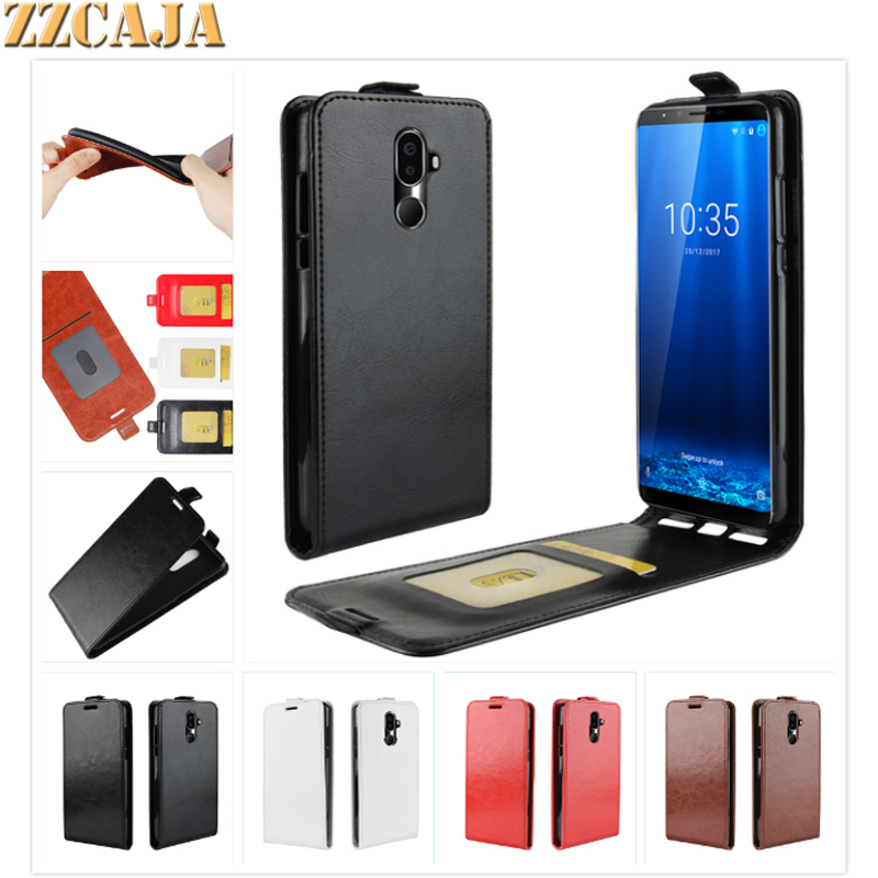 ZZCAJA For Cubot X18 Plus Case New Business Style Luxury PU Leather Cell Phone Shell Flip Cover For Cubot X18 Plus Fundas
