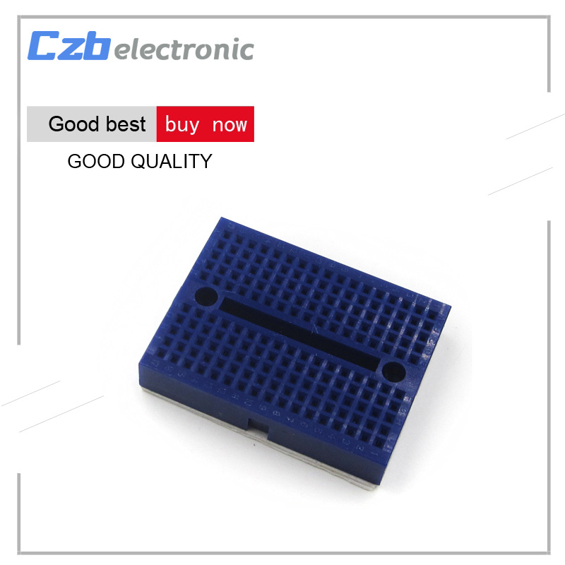 Heimautomatisierungs-sets Intelligente Elektronik 1 Teile/los Syb-170 Mini Solderless Prototyp Experiment Test Breadboard 170 Tie-punkte 35*47*8,5mm Blau