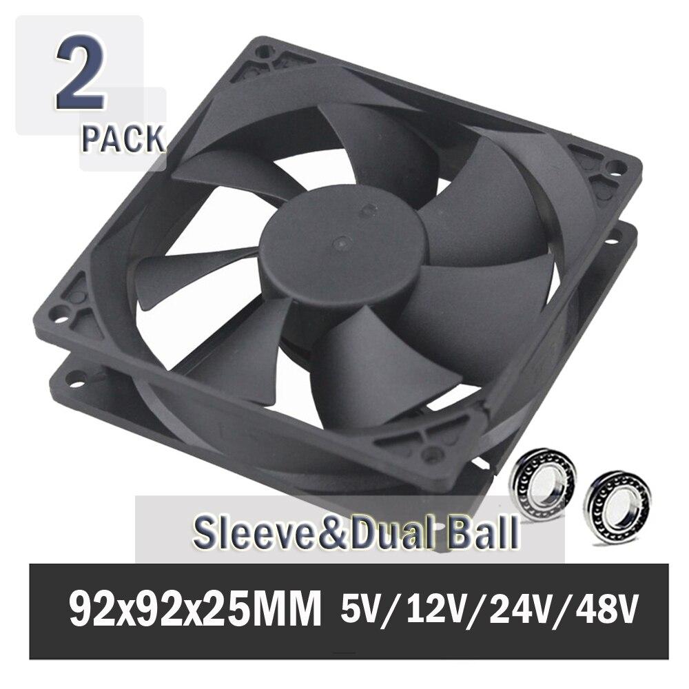 9cm 92mm 25mm 92x92x25mm 3pin 12V Case Cooling Fan Computer PC CPU Cooler