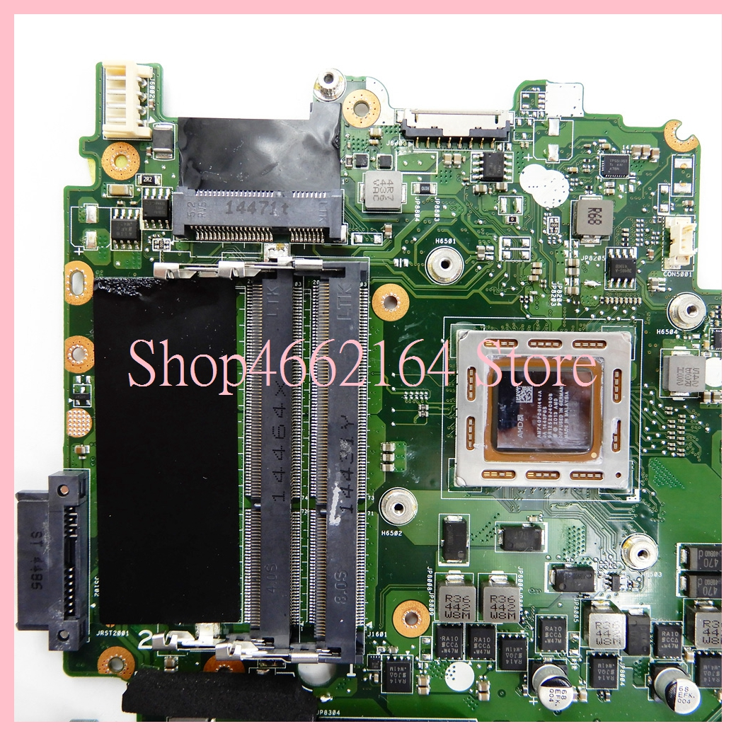 Image 4 - X550ZE motherboard REV2.0 For ASUS X550ZE A10 7400CPU Laptop motherboard X550 X550Z X550ZA Notebook mainboard fully tested-in Laptop Motherboard from Computer & Office