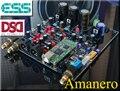 Бесплатная доставка  аудио ЦАП ES9018 ES9028 ES9028PRO  декодер  плата  поддержка XMOS / Amanero I2S  USB вход/XLR  сбалансированный выход