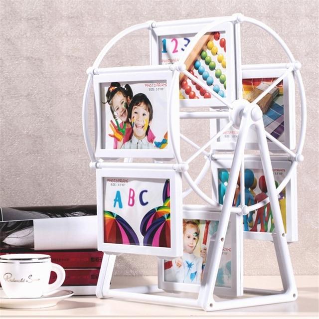 5 Inch Wedding Picture Frames Ferris Wheel Windmill Shape 12pcs ...