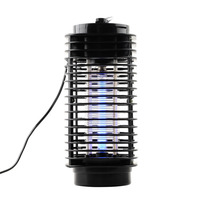 Mini Night Light Insect Electric Mosquito Fly Bug Insect Killer Practical Trap Lamp Black Home Safe