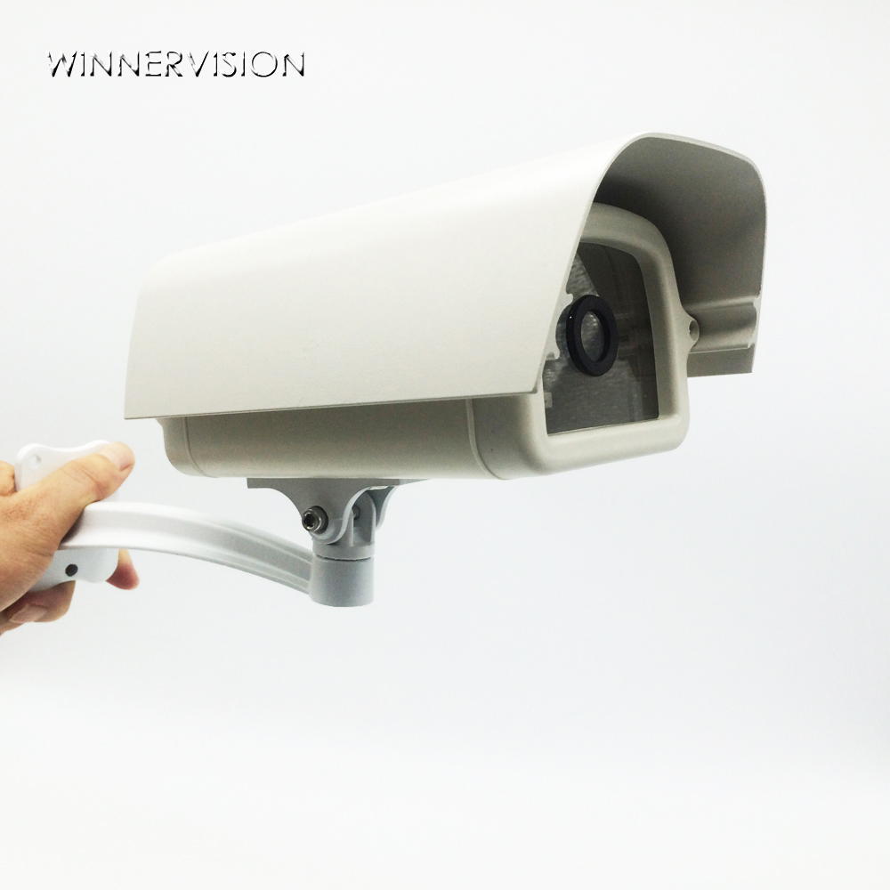 Free Shipping Indoor/Outdoor Waterproof Weatherproof CCTV Housing Casing with Adjustable Bracket for CCTV Security Camera