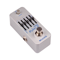 Mooer Graphic B Effect Pedal Micro Mini Graphic B 5 Band EQ Bass Equalizer Effect Pedal True Bypass MEQ2
