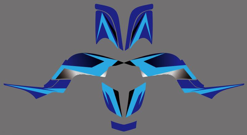 0341 New Style 3M DECALS STICKERS Graphics Kits FIT for RAPTOR 660 ATV