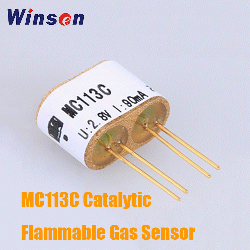 10PCS Winsen MC113C Catalytic Flammable Gas Sensor Good Sensitivity To Methane In Wide Range Long Lifespan