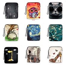 customize print 9.7 tablet bag tablet Case 10.1 Neoprene notebook protective sleeve laptop pouch Cover For ipad 4 case IP-hot4
