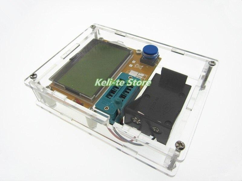 2016 Latest LCR-T4 ESR Meter Transistor Tester Diode Triode Capacitance Mos Mega328 Transistor Tester + CASE (not Battery )  цены