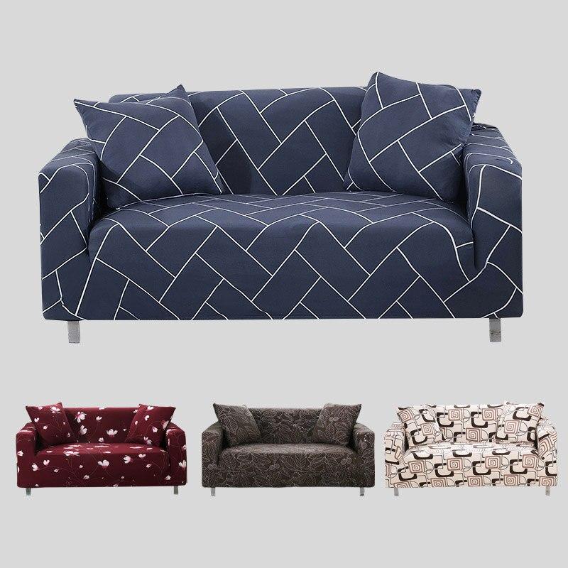 Elastic sofa cover stretch furniture coverssofa covers for - Slipcovers for living room furniture ...