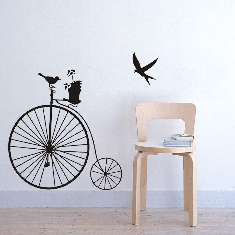 mix wholesale order & more buy more cheaper vintage bicycle wall