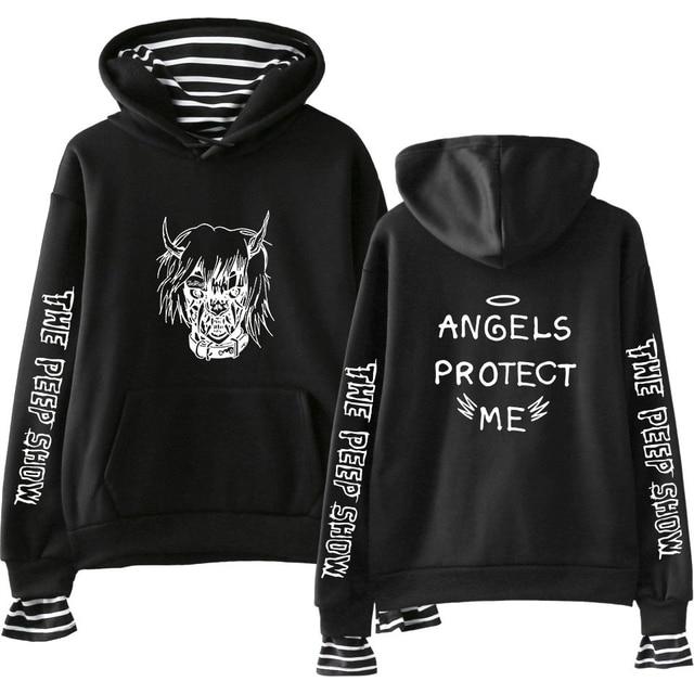 7244994764b BTS Hot Sale Hoodies Casual Women Clothes 2018 Hoodies Sweatshirts lil peep  Hip Hop Kpop Harajuku Tops Print Plus Size A9995