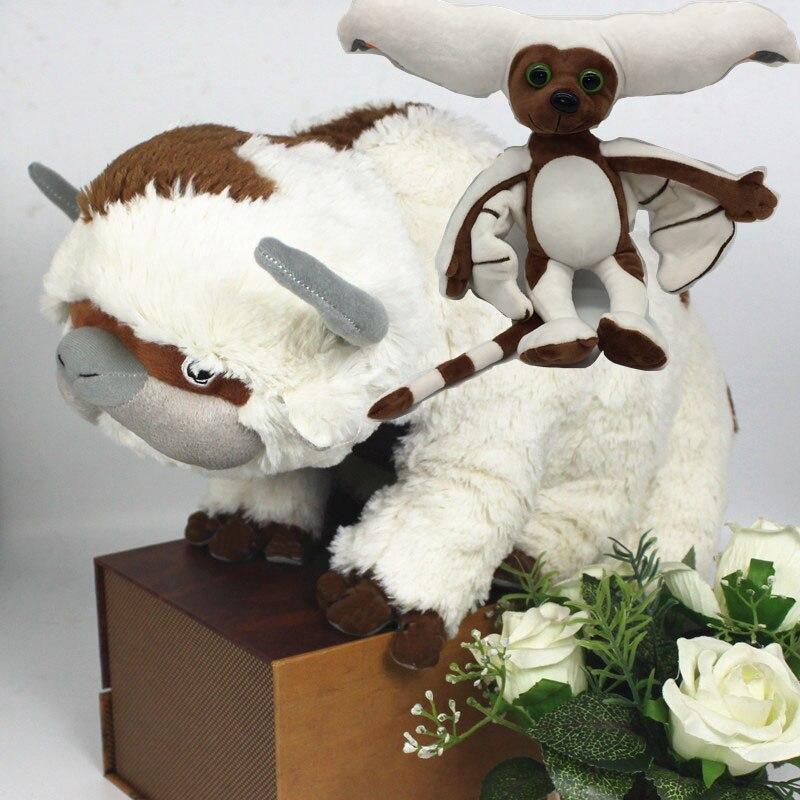55-45 cm Die Last Airbender-fall Ressource Appa & Momo Avatar Gefüllte Plüsch Puppe Spielzeug