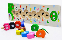 Caterpillars Grab beaded beaded wooden toys,Baby toys