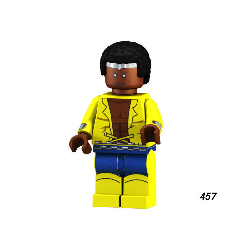 Women And Children Single Sale Super Heroes Star Wars 457 Luke Cage Model Mini Building Blocks Figure Brick Toy Kids Gift Compatible Legoed Ninjaed Suitable For Men